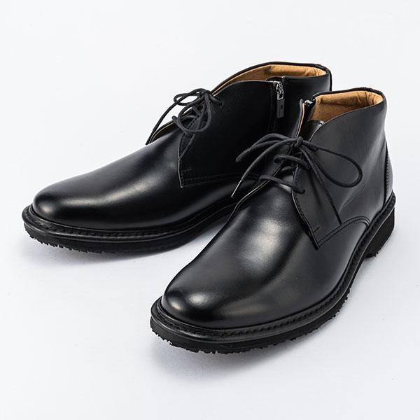 金谷製靴 カネカ 日本製 ソフト牛革 チャッカブーツ 紐タイプ 4E 23 1足