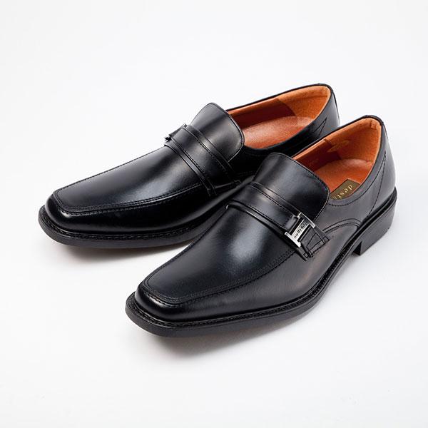 金谷製靴 KANEKA 日本製 牛革ビジネスシューズ ベルト 4E 5010