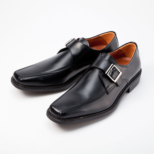 金谷製靴 カネカ 日本製 牛革ビジネスシューズ スワールベルト 4E 5022 1足