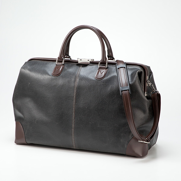 平野鞄 アンディーハワード 日本製白化合皮口枠ダレスボストン 10422 1個