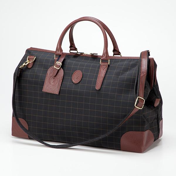 平野鞄 カチャトーレ 日本製チェックダレス型ボストン 11957 1個