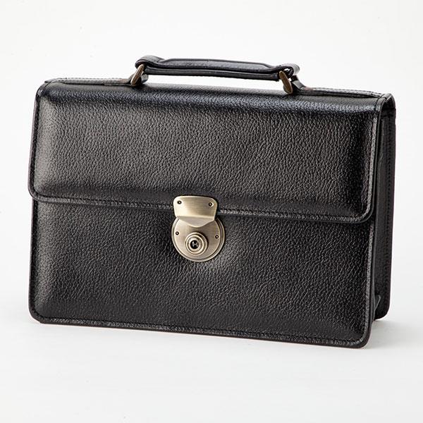 平野鞄 ブレザークラブ 日本製 牛革型押しかぶせセカンドポーチ 25824 1個