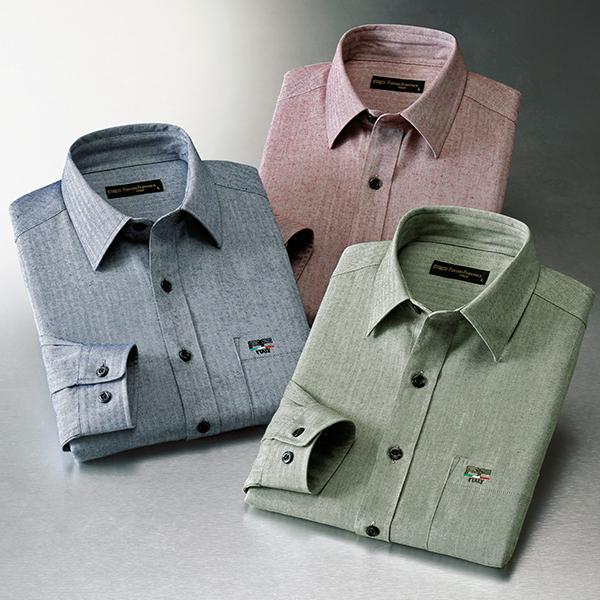 フレンドリー パトリチオ フランチェスカ 大人の上質カジュアルシャツ 3色組 957506 1セット(3枚:3色×各1枚)