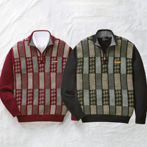 フレンドリー ダンロップ・モータースポーツ 暖かジャカードモールセーター 2色組 957618 1セット(2枚:2色×各1枚)