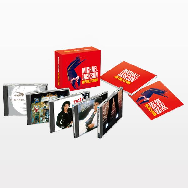 ソニーミュージック 【CD】 マイケル・ジャクソン ザ・コレクション DYCP-1591 1セット(5枚入)