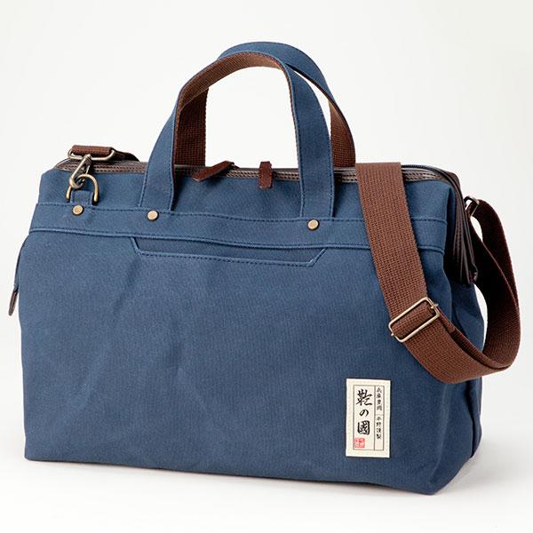 6号帆布を使用した国産ファスナーダレスボストン 受注生産品 平野鞄 買取 鞄の國 31134 6号帆布ファスナーダレスボストン 1個