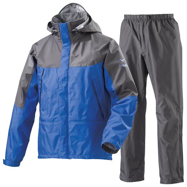 ミズノ ベルグテックEX ストームセイバー6 レインスーツ A2MG8A01 1セット(ジャケット×1、パンツ×1)