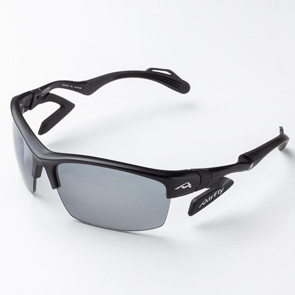 高級品 偏光フィルターを挟んだレンズでレジャーやスポーツに最適 ジゴスペック 鼻でかけない偏光サングラス エアフライ ゴルフ フィッシング用 SALE AF-303 1本 テニス