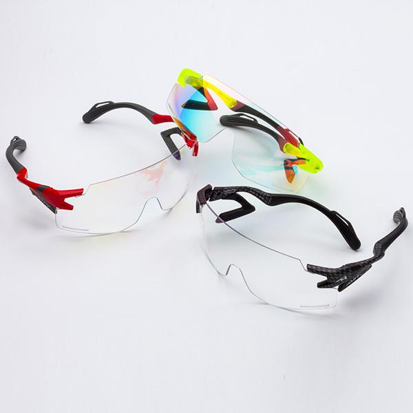 ジゴスペック 鼻でかけない偏光サングラス エアフライ 自転車用調光サングラス AF-301