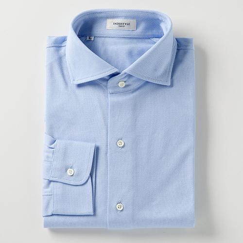 丸和繊維工業 インダスタイルトウキョウ ワイドカラーシャツ 長袖 J132YW83T 1枚