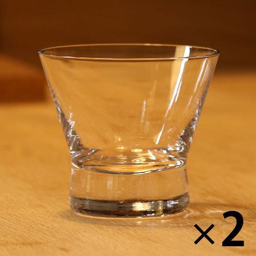 生涯を添い遂げるグラス ロック f クリア 2客セットウイスキー/ロックグラス/タンブラー/ショットグラス/ワイングラス/ワイヤードビーンズ/ブルゴーニュ/ボルドー/シャンパーニュ/生涯補償[産経ネットショップ]