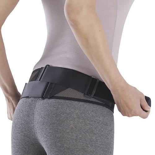 骨盤が安定し腰の負担を軽減する骨盤ベルト 贈り物 メッシュタイプ ミズノ C3JKB501 腰部骨盤ベルト 1個 商い