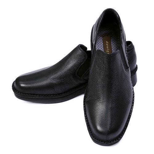 金谷製靴 カネカ 日本製 ソフト牛革 カジュアルウォーキングシューズ スリッポン 4E 4215 1足