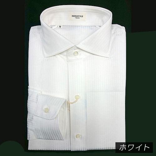 丸和繊維工業 インダスタイルトウキョウ ロンドンストライプ ワイドカラーシャツ 長袖 00J922LMW2(31J022A2YW2) 1枚