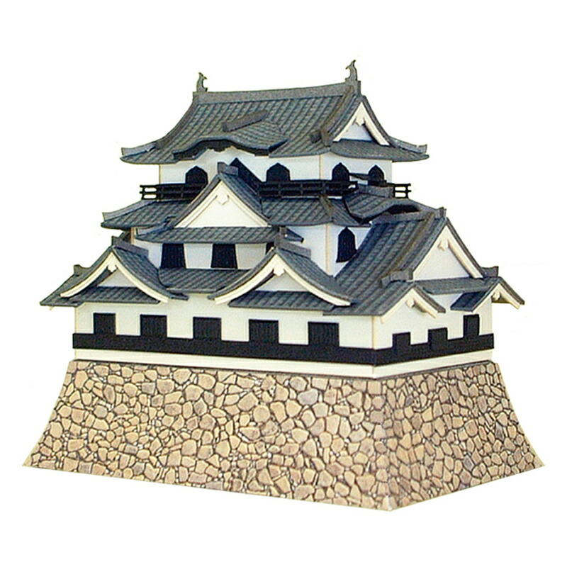Meijo series ◆ paper model Kit/papercraft ◆ collection to elaborate  architectural models and dioramas