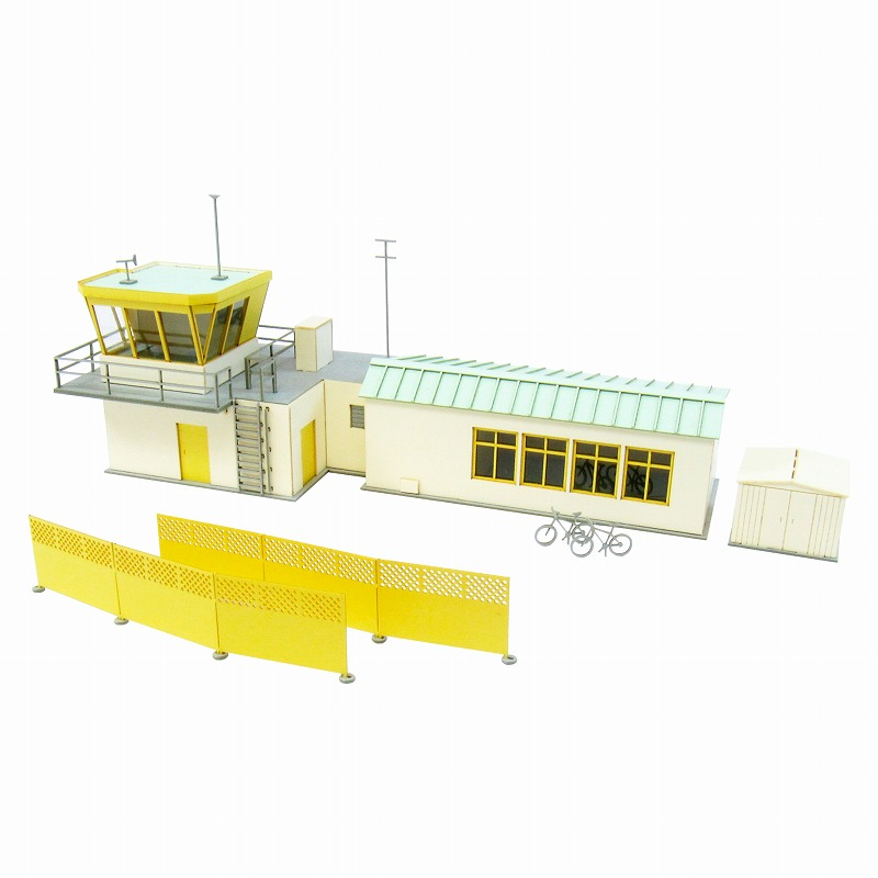 Aviation Visual scene series ◆ paper model Kit/papercraft ◆ train model  N-Gage enabled [elaborate architectural models]