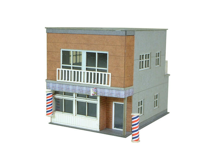 Summer however diorama series ◆ paper model Kit/papercraft ◆ train model  N-Gage enabled [elaborate architectural models]