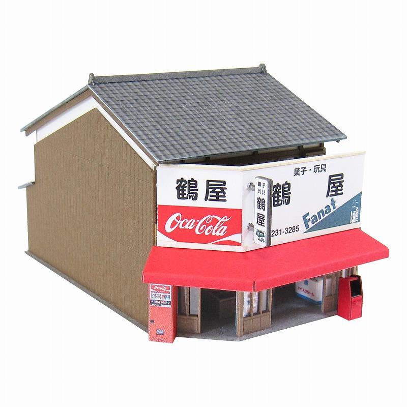 メール便送料無料 みにちゅあーとキット なつかしのジオラマシリーズ 与え 150 商店G S=1 日本