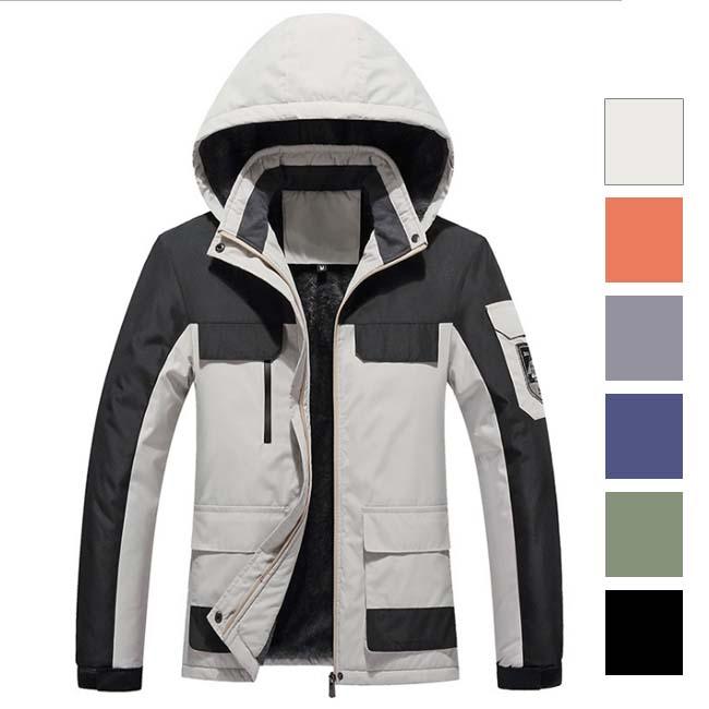 メンズ ジャケット マウンテンパーカー フードジャケット ジップパーカ アウトドアウェア スプリングコート 防風 ホワイト カーキ アウター ネイビー ブラック 代引き不可 グレー 春物 オレンジ 激安