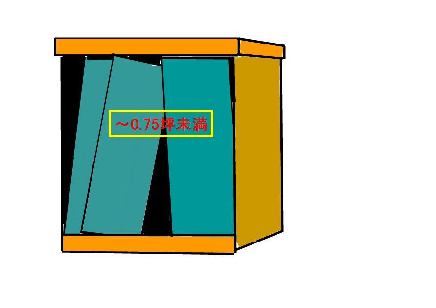 物置解体処分(~0.75坪まで)