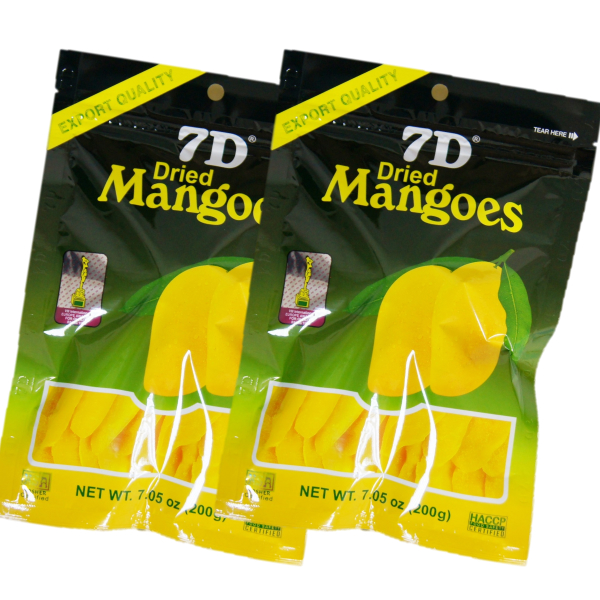 ドライフルーツ マンゴー 7D ドライマンゴー 200g×2袋 【まとめ買い】 国内初 正規輸入品 大容量200gパック 通常商品70gの2.8倍 ノンコレステロール フィリピン セブ ヨーグルト シリアル トッピング