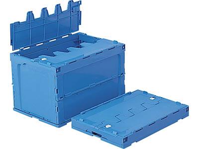 折りたたみ収納ボックス・収納ケースフタ付 95B <外寸>64.8×44×41.9cm