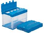 公式ショップ 箱 物入れ プラスチック 収納 ケース 保管 祝日 外寸 折りたたみ収納ボックス 収納ケースフタ付きオリコン60B-B 53×36.6×39.7cm 透明タイプ 配送容器