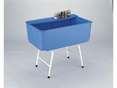 飲料冷却用アイスボックス サンストッカー(スタンド付) <外寸>100×62×36.8cm