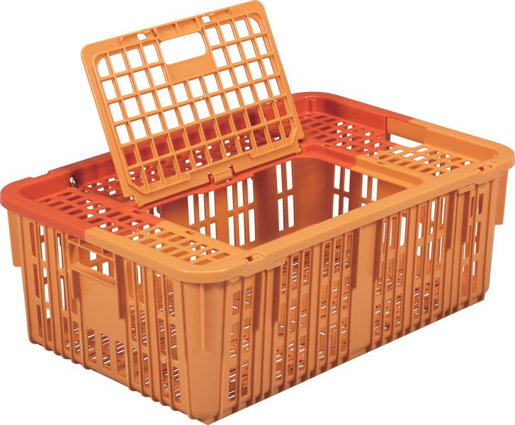 鳥篭4型TC 収納ボックス・ケース(メッシュ)<外寸>77.2×51.8×27.0cm