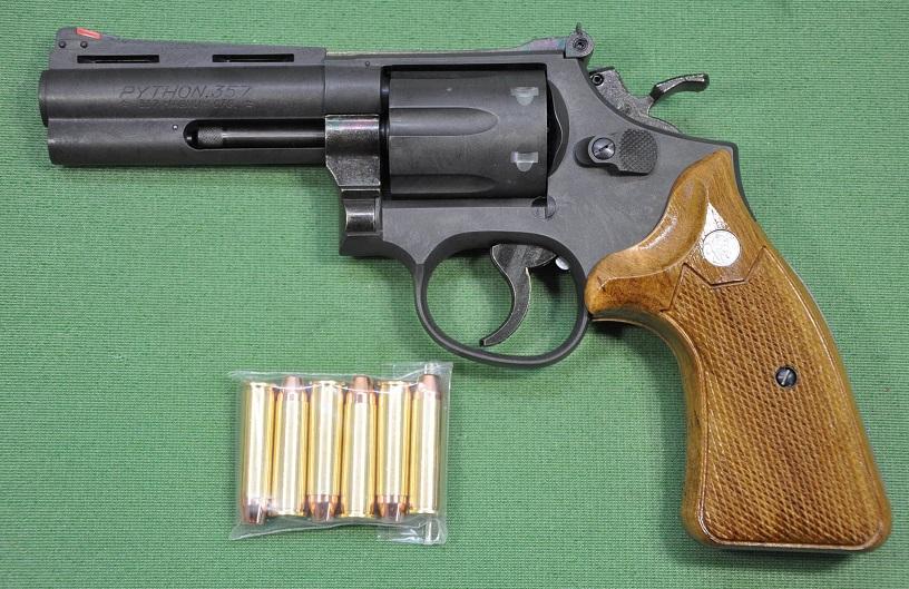 ハートフォード HWS 発火モデルガン S&W SMYTHON HW 4inch 30800