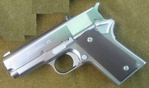 CAW 発火モデルガン デトニクス シルバーモデル 29800-WOF