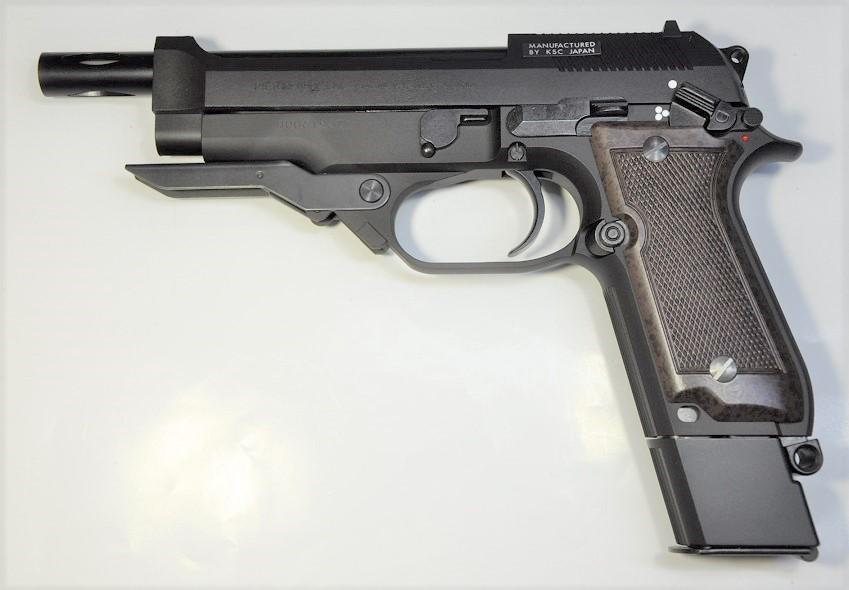 KSC 発火式モデルガン M93R 2nd HW