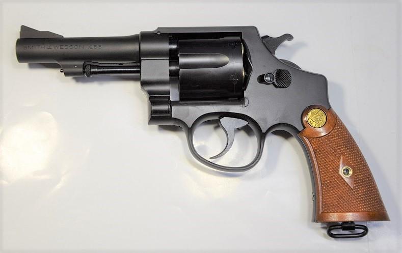 タナカ ガスリボルバー S&W M1917 .455 HE2 4inch HW