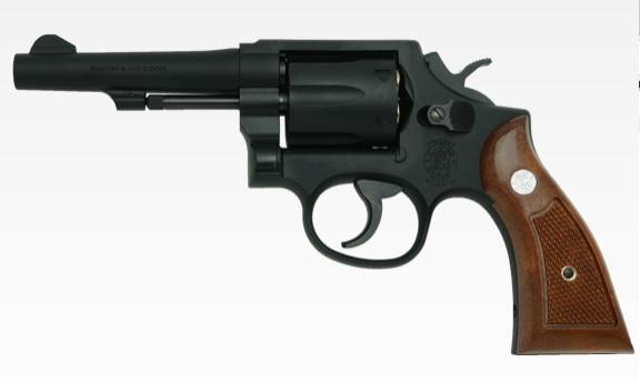 タナカ ガスリボルバー S&W M10 4インチ ミリタリー&ポリス Ver3 HW