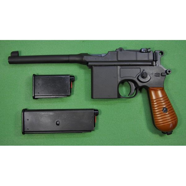 Marushin gas blowback gun Mauser M712 GBB 6mmBB heavy 29,800