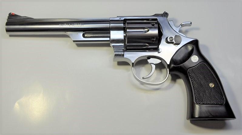 エアガン モデルガン の専門店 マルシン ガスリボルバー SW M629 6.5inch 6mmBB ABSシルバー 9313