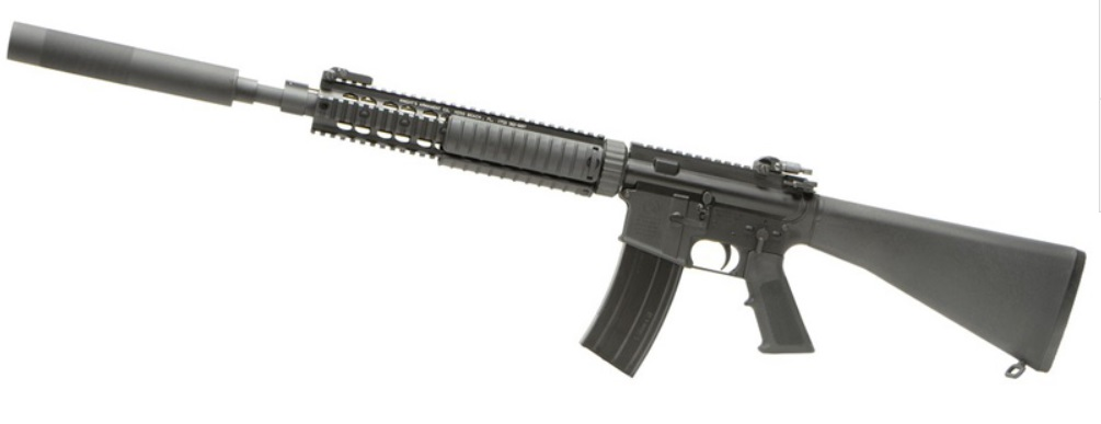 VFC ガスブローバック Colt Mk12Mod1 OPSサンプレッサー付 DX vf2j-lmk12m1-bk12-76000-WOA
