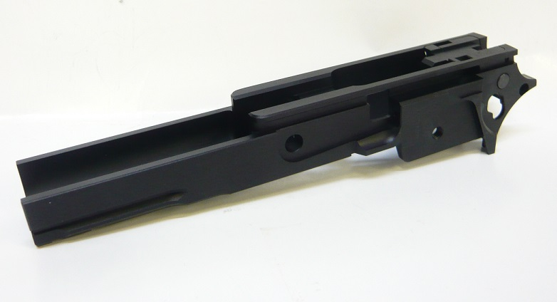 CP レイルド ミドルシャーシ BLACK NEW STIタイプ マルイ Hi-Cap5.1用 CP-TMF-01RB2-34800