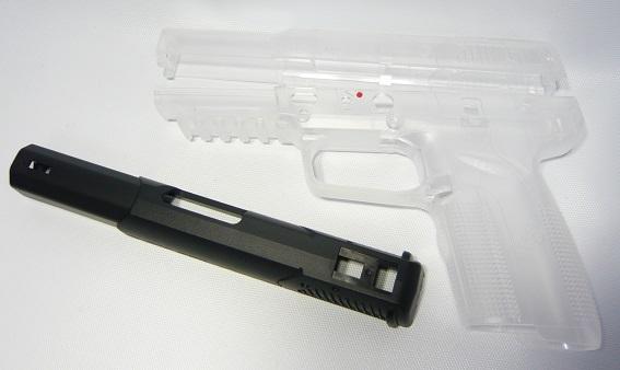 GUARDER 東京マルイ FNファイブセブン リアル刻印 KIT クリアー FN57-05CL-8800