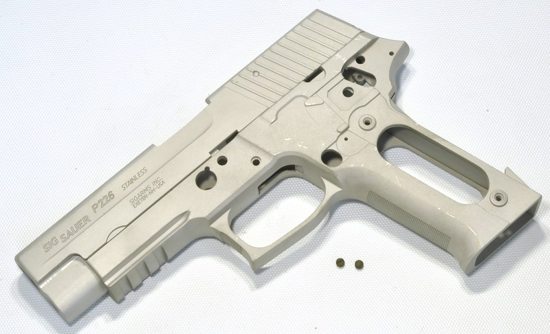 GUARDER 鋳造アルミ KIT 東京マルイSIG P226R用 NEW 2010バージョン 226R Silver P226-15(A)-24800-WOE