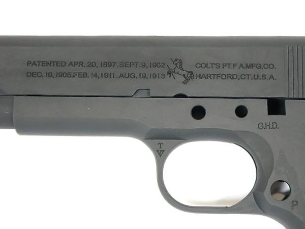 GUARDER コンバージョンキット 2015年Ver. 東京マルイ M1911A1用 Colt M1911A1 アルミ鋳造 Black M1911-04(C)BK-23700-WOE