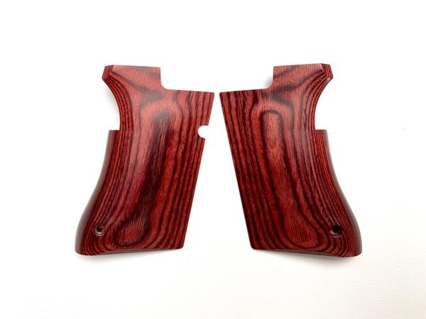 PANDORA ARMS 木製グリップ スムース/レッド 東京マルイ デザートイーグル AWG-430