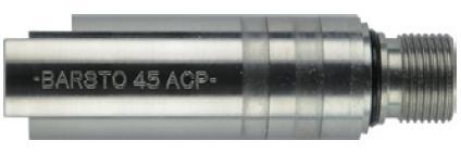 Anvil チャンバーカバー Barst.45ACP Silver 東京マルイHi-Capa/GM用 M-08SS-11000-WOEE