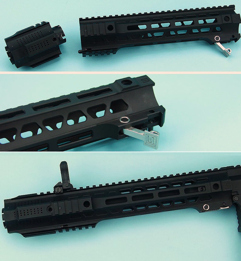 G&P轨道系统SAI QD System Short RAS东京丸井M4 GBB他用Black GP-COP098S-41000
