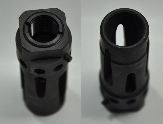 RARE ARMS鋼鐵哈代KAC 7.62 QDC Muzzle Brake 14mm反向螺絲M-002-8000