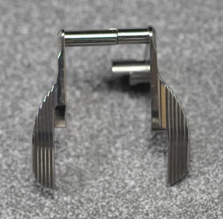 CP アンビセーフティー 東京マルイHi-Cap/MEU用 STIタイプ SUS CNC Silver TM061ST-S