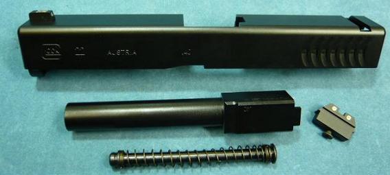 供DETONATOR丸井GLOCK17使用的G22 Gen4 R.T.F Black SL-G1704