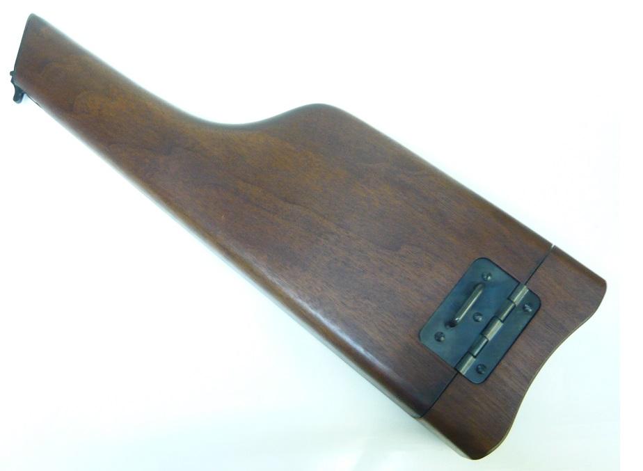 マルシン ショルダーストックホルスター モーゼルM712専用 ウォールナット材 MA-0715