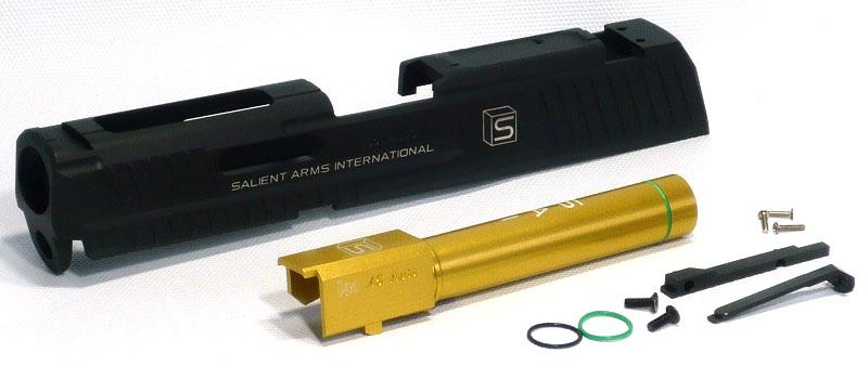 SAI HK45 slide set BK SL-HK03BK for DETONATOR Tokyo Marui HK45