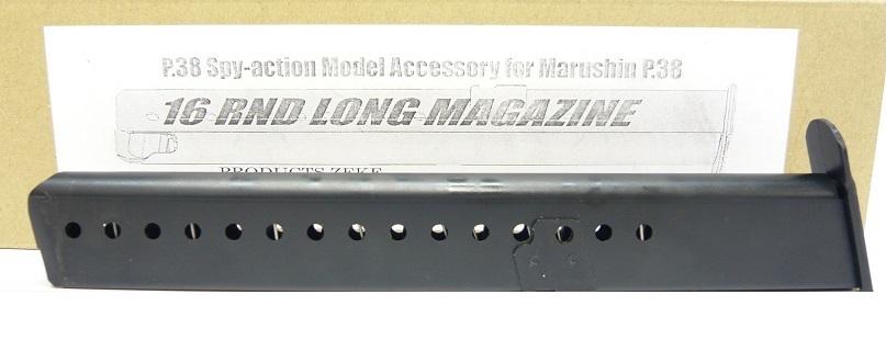 ZEKE マルシン ロングマガジン モデルガン P38用 22000-WOF